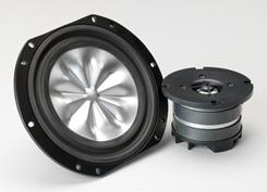 THIEL CS1.7 aluminum woofer and dome tweeter