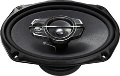 "Side-view of Pioneer TS-A6975R 6""x9"" speaker"