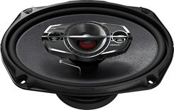 "Side-view of Pioneer TS-A6985R 6""x9"" speaker"