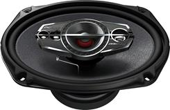 "Side-view of Pioneer TS-A6995R 6""x9"" speaker"