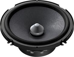 Side-view of the Pioneer TS-A1605C woofer