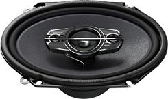 "Side-view of Pioneer TS-A6885R 6""x8"" speaker"