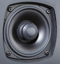 Definitive Technology CS-8060HD woofer and waveguide