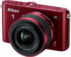 The Nikon 1 J3 comes in a variety of colors