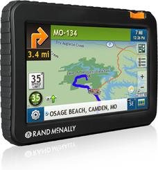 Rand McNally RVND 7720 LM portable navigator for RVs