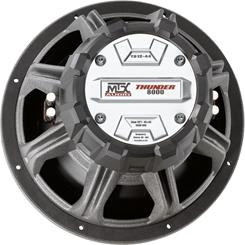 "Back of the MTX T812-44 12"" subwoofer"