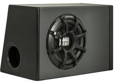 "Alpine PWA-S10V 10"" 2 Ohm Powered Sub Box"