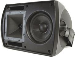 "The Klipsch CA-525T puts a 5-1/4"" woofer and 1"" dome horn loaded tweeter to good use."