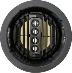 "The AIM275 features a tilting 7"" Kevlar® woofer and four aimable aluminum/magnesium tweeters."