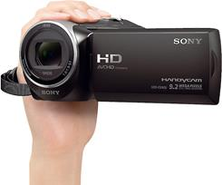 The Sony HDR-CX405 is compact and easy to use.