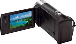 The Sony HDR-CX440 is compact and easy to use.