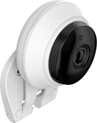 The easy-mount base on the Samsung SNH-C6417BN SmartCam also serves as a wall mount.
