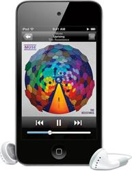 iPod touch 64GB music