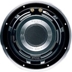 Rear view of the woofer