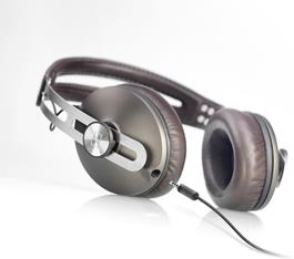 Sennheiser Momentum over-ear headphones with in-line remote and microphone for iPod and iPhone