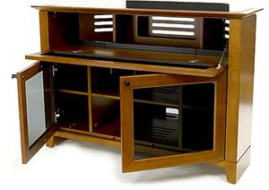 Novia 8421 Cherry drawers open