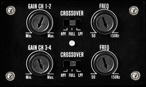Gain and filter controls