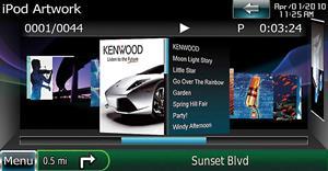 Kenwood Excelon DNX9960 Navigation receiver at Crutchfield.com on