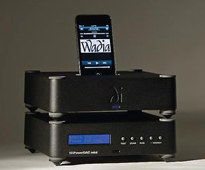 Shown with optional matching iPod dock