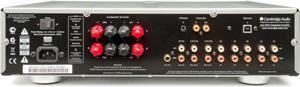 The Cambridge Audio Azur 651A back panel