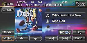 HD Radio screen