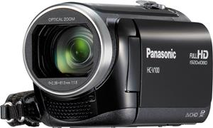 The Panasonic HC-V100M HD camcorder