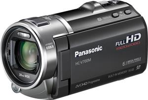 The Panasonic HC-V700M HD camcorder