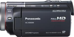 The Panasonic X900M HD camcorder