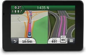 Garmin nuvi 3590LMT lane guidance