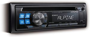 Alpine's CDE-110 CD receiver