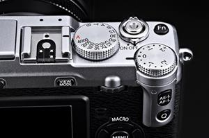 The Fujifilm XE-1 hybrid digital camera