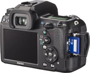 The Pentax K-5 II digital SLR
