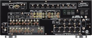 The Marantz AV7701 home theater preamp/processor