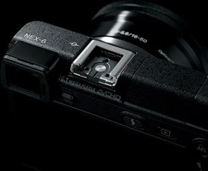 The Sony Alpha NEX-6 Multi-Interface Shoe