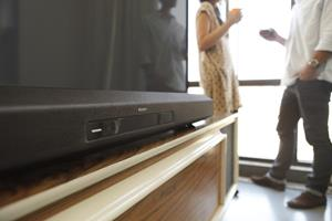 The Sony HT-CT260 powered home theater sound bar