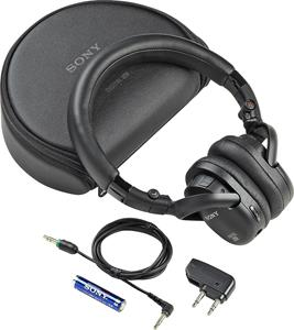Sony MDR-NC200 with accessories