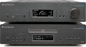 Stacked with the Cambridge Audio Azur 851C DAC/CD Player/digital preamp