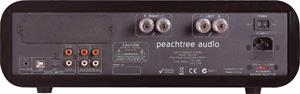 The back panel of the Peachtree Audio Decco 65