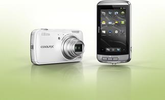 Nikon Coolpix S800c with Android