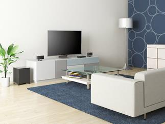 The Onkyo LS3100 Envision Cinema speaker system can fill a small room with enveloping sound