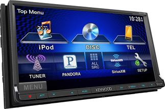 Kenwood's DDX770 DVD receiver