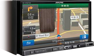 Alpine INEW-927HD navigation receiver