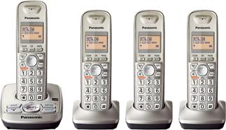 Panasonic KX-TG4224N expandable digital cordless phone