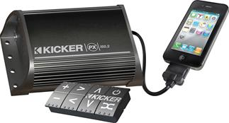 Kicker sound system for boats, ATVs, and much more