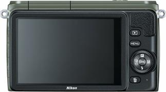 The Nikon 1 S1 features uncomplicated controls and on-screen help