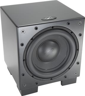 MartinLogan Dynamo 700W powered subwoofer with wireless transmitter