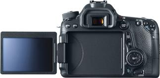 "The Canon EOS 70D featured a bright, fully-articulated 3"" touchscreen"