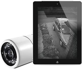 The Y-cam Home Monitor keeps an eye on your home when you're away.