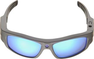 The Pivothead Durango sport sunglasses feature a bridge-mounted point-of-view camera.