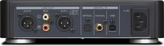 The TEAC UD-H01 sports multiple inputs and outputs to handle your audio system's needs.